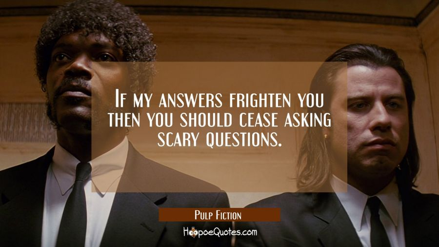 Scary questions for engineers