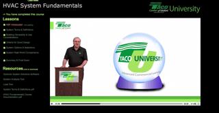 Manufacturer News: Taco's HVAC System Fundamentals Course