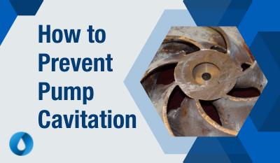 how to prevent pump cavitation